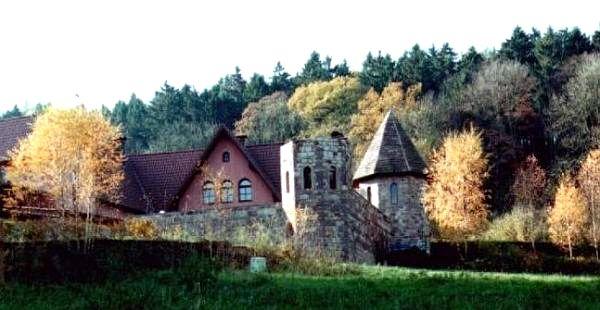 Das deutsche Orthodoxe Dreifaltigkeit Kloster in Buchhagen