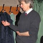 Hartmut Warm bei seinem Vortrag: Harmonik in der Geometrie, 2014