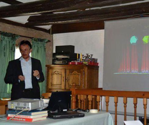 Willibald Limbrunner auf dem Harmonik-Symposion 2015