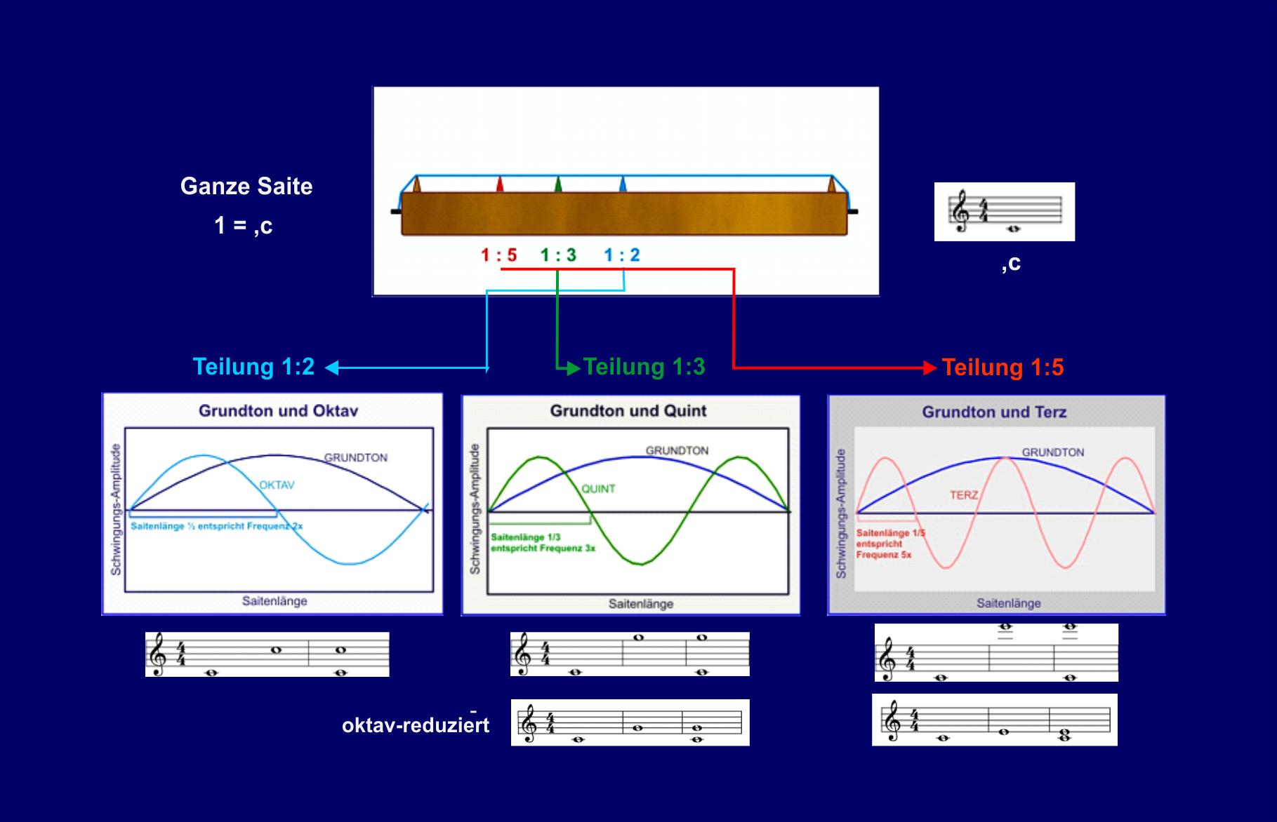 Zahl und Ton am Monochord